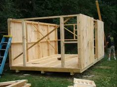 Building a shed in under 2 min! I like the walls in the end product. You could…