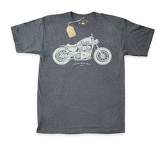 Sixty Three Motorcycle Sportster Design Illustration Shirt