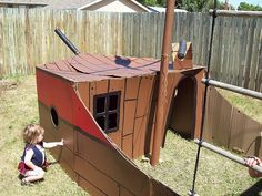 awesome Swing Set Pirate Ship - an album on Flickr