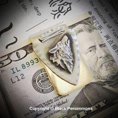 NEW  Alcide's Arrowhead Money Clip  Pewter Arrowhead by grigio, $27.80