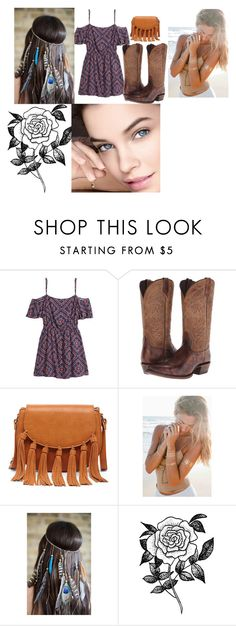 """style 0000"" by ashley-ploog on Polyvore featuring H&M, Ariat, Sole Society and Forever 21"