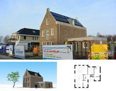 'Het Pakhuis'   Klassieke woning met industriële details   Hoogeveen Houses, Cabin, House Styles, Home Decor, Homes, Room Decor, Cottage, Home Interior Design, Cabins