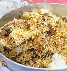World best Biryani Recipe - Are you ready to cook? Let's try to make World best Biryani in your home! Lamb Biryani Recipes, Curry Recipes, Rice Recipes, Indian Food Recipes, Asian Recipes, Chicken Recipes, Cooking Recipes, Ethnic Recipes, Recipies