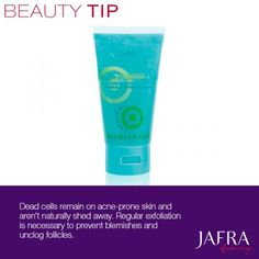 Prevent blemishes and unclog follicles by exfoliating regularly. http://jafra.me/xmb