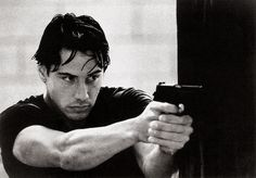 https://flic.kr/p/MKLQ6A   Keanu Reeves   Vintage postcard, no. PP 105. Photo: publicity still for Point Break (Kathryn Bigelow, 1991).  Keanu Reeves (1964) is a Canadian actor, producer, director and musician. Though Reeves often faced criticism for his deadpan delivery and perceived limited range as an actor, he nonetheless took on roles in a variety of genres, doing everything from introspective art-house fare to action-packed thrillers. His films include My Own Private Idaho (1991), the…