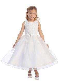 Kids 5571 $180.99 from http://www.www.empopgown.com   #bridalgown #wedding #weddingdress #mywedding #kids #bridal