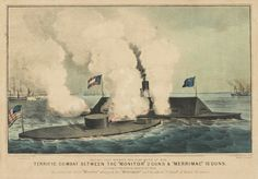 Images of USS Monitor, Civil War Ironclad: The Historic Clash of Ironclads