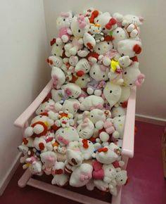 Hello Kitty chair!