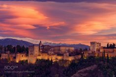 Popular on 500px : Alhambra Mood by riccardozambelloni