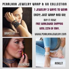 Updates from PearlAnaJewelry on Etsy Anklet, Free Shipping, Trending Outfits, Unique Jewelry, Bracelets, Handmade Gifts, How To Wear, Stuff To Buy, Etsy