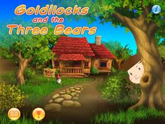 Goldilocks and the Three Bears – Vocabulary Game and Storybook  Our program is designed for young learners of English as a Foreign Language (EFL), and was developed especially for learning English in non-English-speaking countries. ages: 4-8  * LEARN 80 words from the story in an action-filled bubble game * USE the words learned in 10 short animated videos * Collect all 10 videos in the Video Gallery as you unlock levels * Go through 120 levels in the full app version 151MB