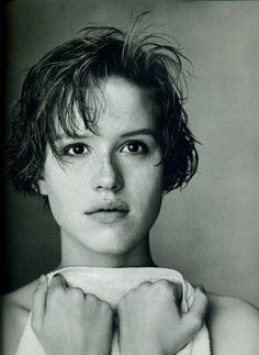 For Keeps, 16 Candles, The Breakfast Club,  Pretty in Pink. Molly Ringwald is a definite inspiration. Oh Molly--how we ❤ thee.