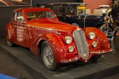 Alfa Romeo 8C 2900B Lungo Touring Berlinetta (Chassis 412024 - 2016 Retromobile) High Resolution Image