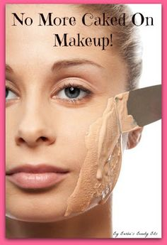 No more caked on makeup, with a great tip on... How To Blend Your Way To A Flawless Face, by Barbie's Beauty Bits.