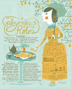 Cositas Ricas Ilustradas por Pati Aguilera: Calzones Rotos