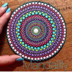 Aboriginal Dot Painting, Dot Art Painting, Painting Patterns, Diy Painting, Mandala Canvas, Mandala Artwork, Mandala Painting, Circle Canvas, Moroccan Art