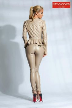 Leather suits for women
