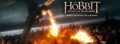 The Hobbit The Battle of The Five Armies Blu-ray Giveaway! #TheHobbit