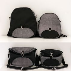 Patron sac à dos Limbo : sac à dos transformable en sac à bandoulière ou sac…