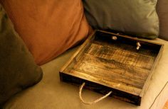 Pallet Wood Serving Tray