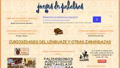 Cientos de recursos para lectoescritura. Todo tipos de juegos del lenguaje. #bilingualeducation