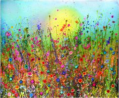 'My Gypsy Love' Wild Flowers Collection - by Yvonne Coomber www.yvonnecoomber.com