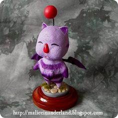 Artemicion moogle sculpture by Alex Pribnow.
