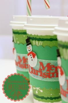 I love these easy Homemade Christmas Gifts for teachers, friends, or anyone who needs a little gift. Perfect for use with silhouette or silh...