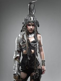 Apocalyptic steel armored warrior ~ Photographer Allan Amato.