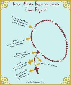 Terço Maria Passa na Frente para Imprimir Quotes About God, Good Vibes, Make You Feel, American Indians, Prayers, Religion, Mindfulness, Faith, Feelings