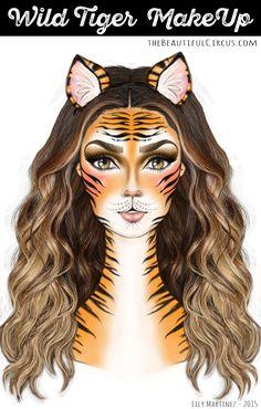 Wild Tiger_MakeUp Look                                                                                                                                                                                 More