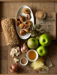 ingredients for cheese and apple chutney sandwich-www.ourseasonaltable.com