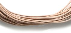 Picture of 10LC151-5, India Leather Cord Natural 1mm 5 Meter