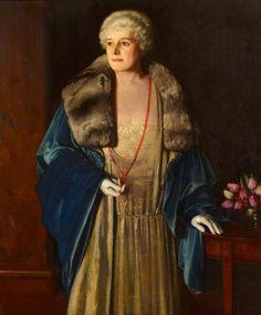 Portrait of Marguerite Kelsey 1928 Winifred Radford 1921