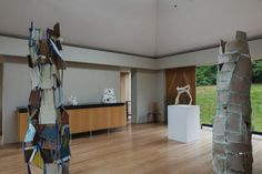 My Modern House: Jessica Smith reveals the Artists House in Roche Court, Salisbury Jessica Smith, Contemporary Sculpture, 60th Anniversary, Exhibition Space, New Art, Opportunity, Centre, Artists, Spaces