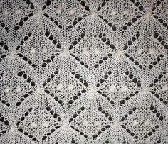 pamelatutu:    Estonian lace shawl detail by slideshow bob.  Pattern:Estonian Lace Christening Shawl by Hazel Roots