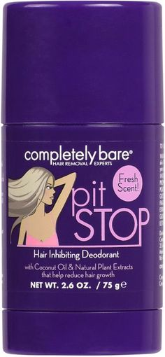 Completely Bare's Pit Stop Hair Inhibiting Deodorant contains natural plant extracts to help prolong the smooth effects of hair removal and coconut oil to help soften skin. Remove Unwanted Facial Hair, Unwanted Hair, Mild Shampoo, Hair Shampoo, Clarifying Shampoo, Honey Shampoo, Shampoo Carpet, Natural Shampoo, Shampoo Bar