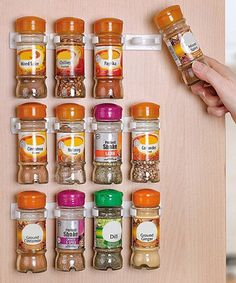 Loving this 18-Piece Spice Clip Set on #zulily! #zulilyfinds