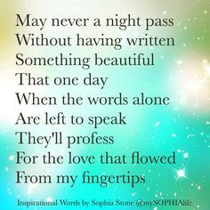 An evening poem. Something Beautiful, Beautiful Words, House Of Beauty, Inspire Others, Positive Quotes, Affirmations, Poems, Writer, Encouragement
