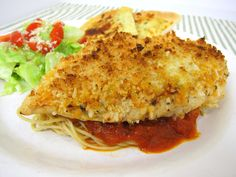 Grilled Chicken Parmesan | Plain Chicken