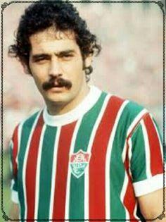 435c1ef6db210 Rivelino of Fluminense in 1972. Camisa Fluminense