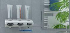 """Seifenspender und Universalspender Tubotec ist ein Duschgelspender, Seifenspender, Zahncemespender und Spender für vieles mehr in Ihrem Badezimmer. Mit """"nie wieder bohre"""" lässt sich der Duschgelspender leicht in der Dusche, oder der Seifenspender und Zahncremespender leicht am Waschtisch montieren. Kein Umüllen von Seifen mehr, einfache und sparsame in der Handhabung. Design und Komfort in einem Gerät."""