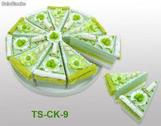 Set de 10 cajas porción pastelito + Display