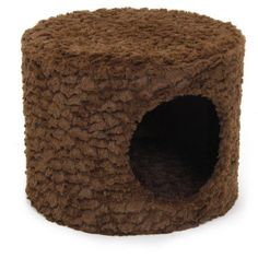 One Source International Cat Condo, Brown, 13.4 inch