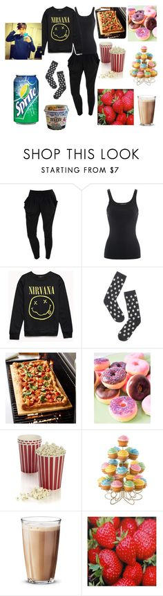"""""""movie night with luke brooks"""" by strawberry-short-cake99 ❤ liked on Polyvore featuring Ralph Lauren, Forever 21, Madewell, Sur La Table, Crate and Barrel, Wilton, Rosendahl, WALL, movieNight and janoskians"""