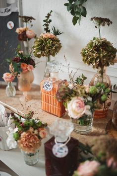 @sweet mome // Gender reveal party // bouquet de fleurs