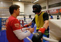 Die lange und besonders harte Vorbereitung von Robin Krasniqi wurde heute im Magdeburger SES-Gym mit dem letzten Sparring abgeschlossen.