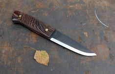 Angelero Manufacturing Aurora Bushcraft Knives, Knifes, Aurora, Weapons, Blade, Porn, Guns, Tools, Projects
