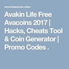 Avakin Life Free Avacoins 2017   Hacks, Cheats Tool  Coin Generator   Promo Codes .