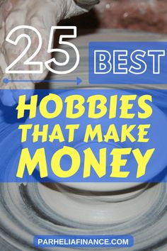 Want to learn how to make money from your hobbies? Here's a big list of hobbies that make money. Now you can have fun and earn more money! Click through to see them! #makemoremoney #sidehustle #makeextracash #moneytips #hobbiesthatmakemoney #sidehustleideas
